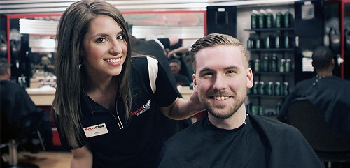 Sport Clips Haircuts of Butler North​ stylist hair cut